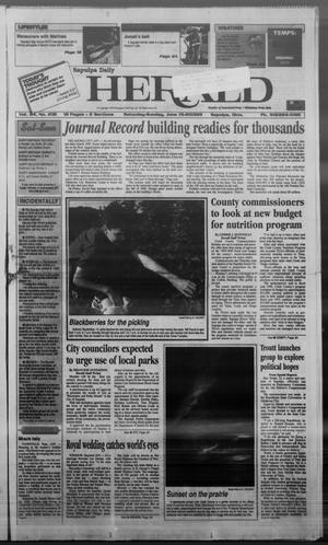 Primary view of Sapulpa Daily Herald (Sapulpa, Okla.), Vol. 84, No. 238, Ed. 1 Saturday, June 19, 1999