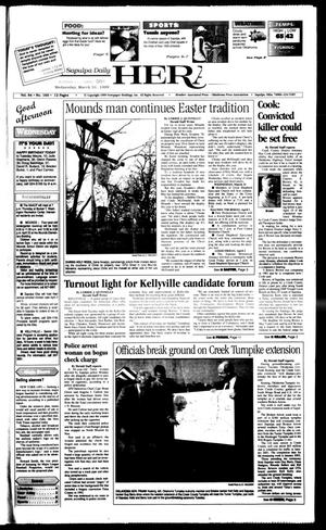 Primary view of Sapulpa Daily Herald (Sapulpa, Okla.), Vol. 84, No. 170, Ed. 1 Wednesday, March 31, 1999