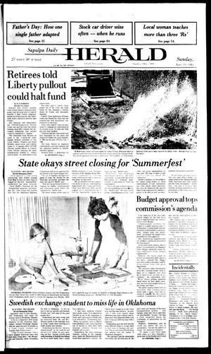 Primary view of Sapulpa Daily Herald (Sapulpa, Okla.), Vol. 69, No. 239, Ed. 1 Sunday, June 19, 1983