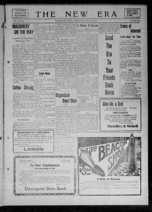 Primary view of The New Era (Davenport, Okla.), Vol. 2, No. 36, Ed. 1 Thursday, September 29, 1910