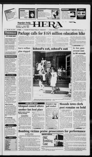 Primary view of Sapulpa Daily Herald (Sapulpa, Okla.), Vol. 82, No. 213, Ed. 1 Thursday, May 22, 1997