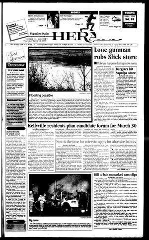 Primary view of object titled 'Sapulpa Daily Herald (Sapulpa, Okla.), Vol. 84, No. 159, Ed. 1 Thursday, March 18, 1999'.
