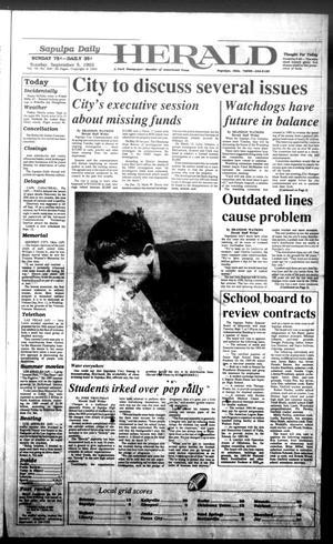Primary view of Sapulpa Daily Herald (Sapulpa, Okla.), Vol. 79, No. 305, Ed. 1 Sunday, September 5, 1993