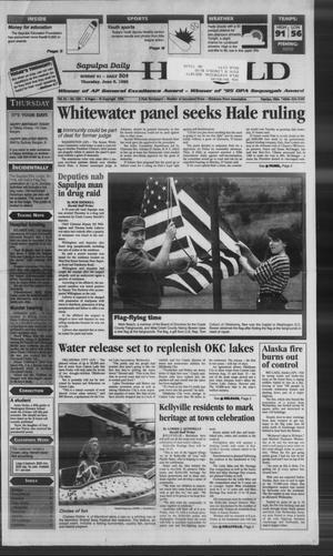 Primary view of Sapulpa Daily Herald (Sapulpa, Okla.), Vol. 81, No. 230, Ed. 1 Thursday, June 6, 1996