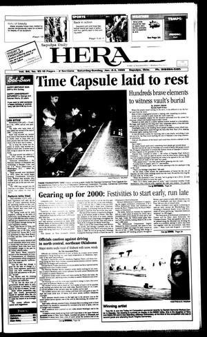 Primary view of Sapulpa Daily Herald (Sapulpa, Okla.), Vol. 84, No. 95, Ed. 1 Sunday, January 3, 1999