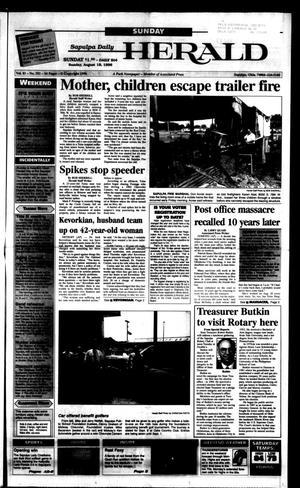 Primary view of Sapulpa Daily Herald (Sapulpa, Okla.), Vol. 81, No. 292, Ed. 1 Sunday, August 18, 1996