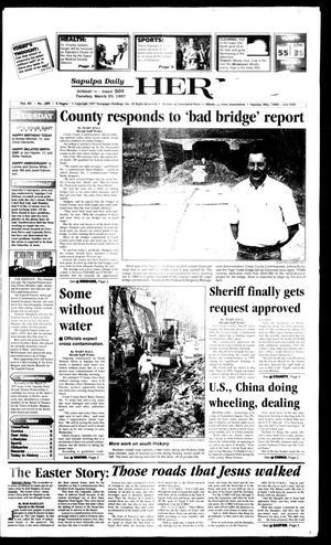 Primary view of Sapulpa Daily Herald (Sapulpa, Okla.), Vol. 82, No. 165, Ed. 1 Tuesday, March 25, 1997
