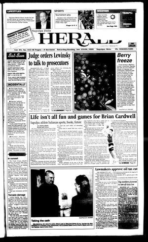 Primary view of Sapulpa Daily Herald (Sapulpa, Okla.), Vol. 84, No. 113, Ed. 1 Sunday, January 24, 1999