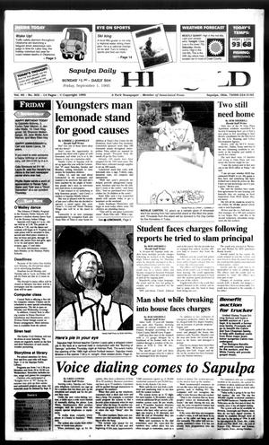 Primary view of Sapulpa Daily Herald (Sapulpa, Okla.), Vol. 81, No. 302, Ed. 1 Friday, September 1, 1995