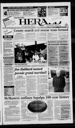 Primary view of Sapulpa Daily Herald (Sapulpa, Okla.), Vol. 83, No. 54, Ed. 1 Sunday, November 16, 1997