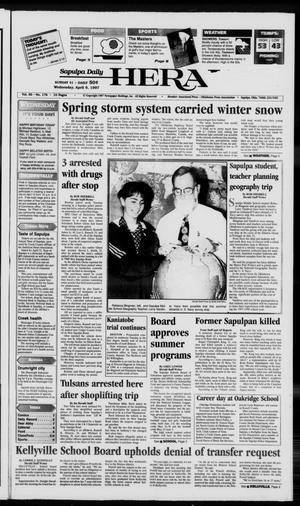 Primary view of Sapulpa Daily Herald (Sapulpa, Okla.), Vol. 82, No. 176, Ed. 1 Wednesday, April 9, 1997
