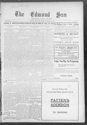 Primary view of The Edmond Sun (Edmond, Okla. Terr.), Vol. 18, No. 37, Ed. 1 Thursday, March 28, 1907