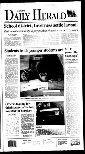Primary view of Sapulpa Daily Herald (Sapulpa, Okla.), Vol. 90, No. 116, Ed. 1 Tuesday, January 25, 2005