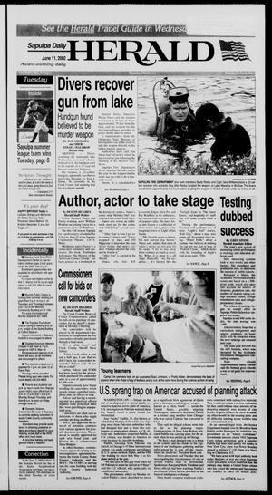 Primary view of Sapulpa Daily Herald (Sapulpa, Okla.), Vol. 87, No. 231, Ed. 1 Tuesday, June 11, 2002