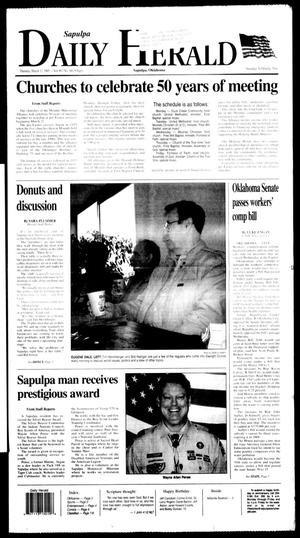 Primary view of Sapulpa Daily Herald (Sapulpa, Okla.), Vol. 90, No. 160, Ed. 1 Thursday, March 17, 2005
