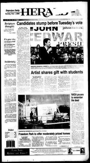 Primary view of Sapulpa Daily Herald (Sapulpa, Okla.), Vol. 89, No. 122, Ed. 1 Sunday, February 1, 2004