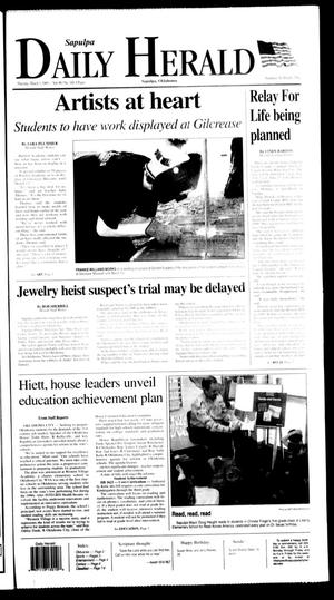 Primary view of object titled 'Sapulpa Daily Herald (Sapulpa, Okla.), Vol. 90, No. 148, Ed. 1 Thursday, March 3, 2005'.