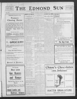 Primary view of The Edmond Sun (Edmond, Okla.), Vol. 20, No. 34, Ed. 1 Thursday, March 25, 1909