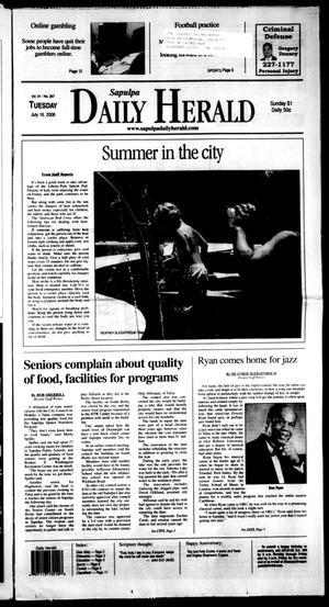 Primary view of Sapulpa Daily Herald (Sapulpa, Okla.), Vol. 91, No. 267, Ed. 1 Tuesday, July 18, 2006