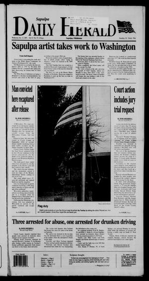 Primary view of object titled 'Sapulpa Daily Herald (Sapulpa, Okla.), Vol. 91, No. 78, Ed. 1 Wednesday, December 14, 2005'.