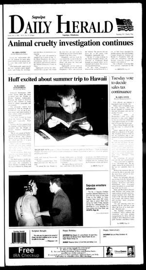 Primary view of Sapulpa Daily Herald (Sapulpa, Okla.), Vol. 91, No. 131, Ed. 1 Sunday, February 12, 2006