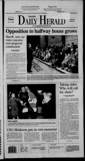 Primary view of Sapulpa Daily Herald (Sapulpa, Okla.), Vol. 92, No. 24, Ed. 1 Friday, December 8, 2006