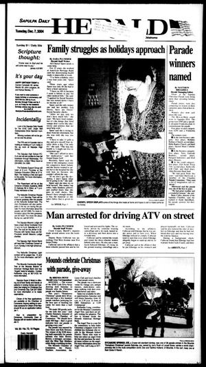 Primary view of Sapulpa Daily Herald (Sapulpa, Okla.), Vol. 90, No. 73, Ed. 1 Tuesday, December 7, 2004