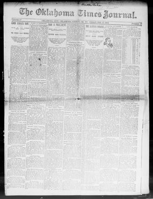 Primary view of object titled 'The Oklahoma Times-Journal. (Oklahoma City, Okla. Terr.), Vol. 3, No. 40, Ed. 1 Wednesday, February 10, 1892'.