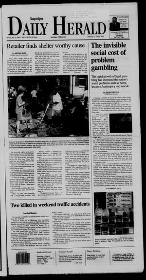 Primary view of Sapulpa Daily Herald (Sapulpa, Okla.), Vol. 91, No. 216, Ed. 1 Monday, May 22, 2006