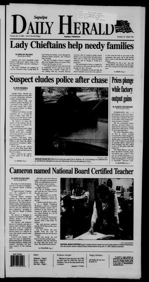 Primary view of Sapulpa Daily Herald (Sapulpa, Okla.), Vol. 91, No. 79, Ed. 1 Thursday, December 15, 2005