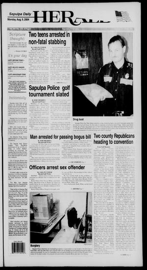 Primary view of Sapulpa Daily Herald (Sapulpa, Okla.), Vol. 89, No. 273, Ed. 1 Monday, August 9, 2004