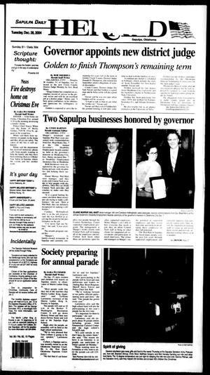 Primary view of Sapulpa Daily Herald (Sapulpa, Okla.), Vol. 90, No. 91, Ed. 1 Tuesday, December 28, 2004