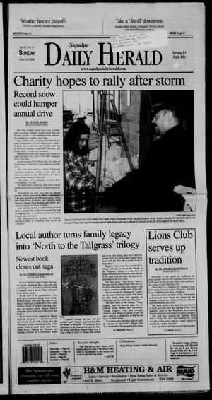 Primary view of Sapulpa Daily Herald (Sapulpa, Okla.), Vol. 92, No. 19, Ed. 1 Sunday, December 3, 2006