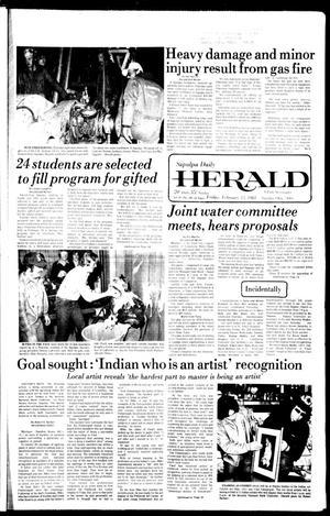 Primary view of Sapulpa Daily Herald (Sapulpa, Okla.), Vol. 67, No. 130, Ed. 1 Friday, February 13, 1981