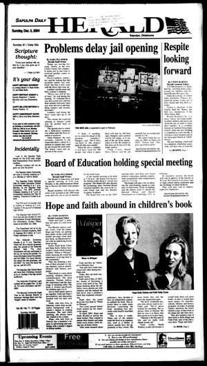 Primary view of Sapulpa Daily Herald (Sapulpa, Okla.), Vol. 90, No. 71, Ed. 1 Sunday, December 5, 2004