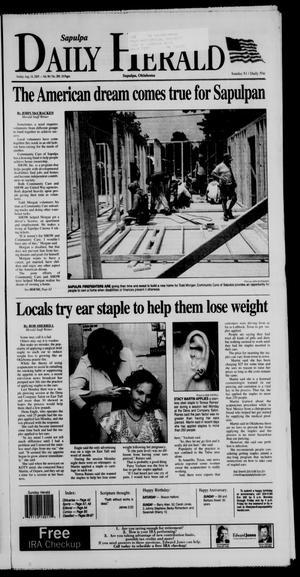 Primary view of Sapulpa Daily Herald (Sapulpa, Okla.), Vol. 90, No. 288, Ed. 1 Sunday, August 14, 2005