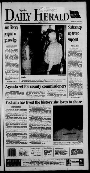 Primary view of Sapulpa Daily Herald (Sapulpa, Okla.), Vol. 90, No. 234, Ed. 1 Sunday, June 12, 2005