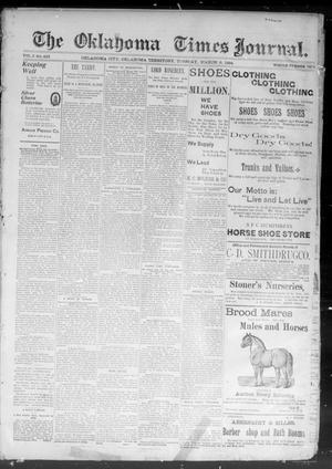 Primary view of The Okahoma Times Journal. (Oklahoma City, Okla. Terr.), Vol. 5, No. 223, Ed. 1 Tuesday, March 6, 1894