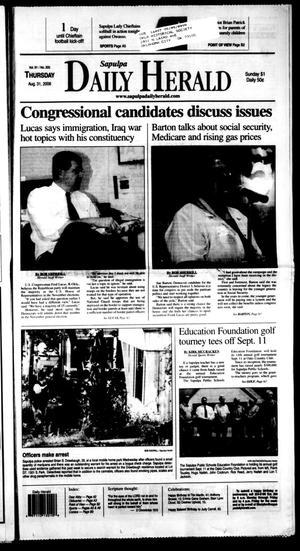 Primary view of Sapulpa Daily Herald (Sapulpa, Okla.), Vol. 91, No. 305, Ed. 1 Thursday, August 31, 2006