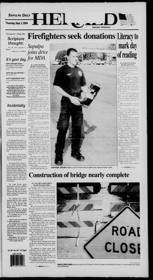 Primary view of Sapulpa Daily Herald (Sapulpa, Okla.), Vol. 89, No. 301, Ed. 1 Thursday, September 2, 2004