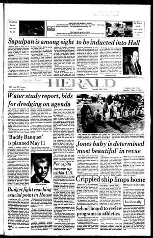 Primary view of Sapulpa Daily Herald (Sapulpa, Okla.), Vol. 67, No. 197, Ed. 1 Sunday, May 3, 1981