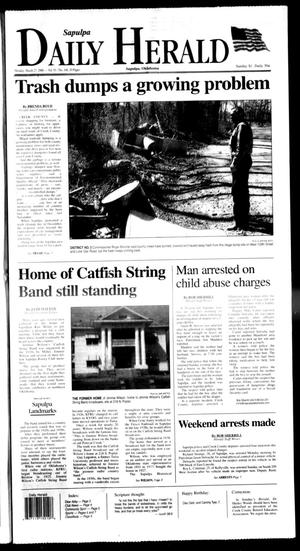 Primary view of Sapulpa Daily Herald (Sapulpa, Okla.), Vol. 91, No. 168, Ed. 1 Monday, March 27, 2006