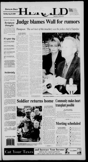 Primary view of Sapulpa Daily Herald (Sapulpa, Okla.), Vol. 89, No. 291, Ed. 1 Sunday, August 22, 2004