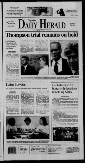 Primary view of Sapulpa Daily Herald (Sapulpa, Okla.), Vol. 91, No. 237, Ed. 1 Thursday, June 15, 2006