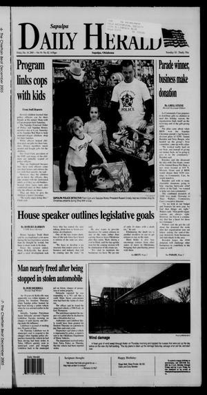 Primary view of Sapulpa Daily Herald (Sapulpa, Okla.), Vol. 91, No. 80, Ed. 1 Friday, December 16, 2005