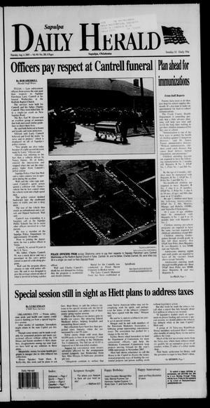Primary view of Sapulpa Daily Herald (Sapulpa, Okla.), Vol. 90, No. 280, Ed. 1 Thursday, August 4, 2005
