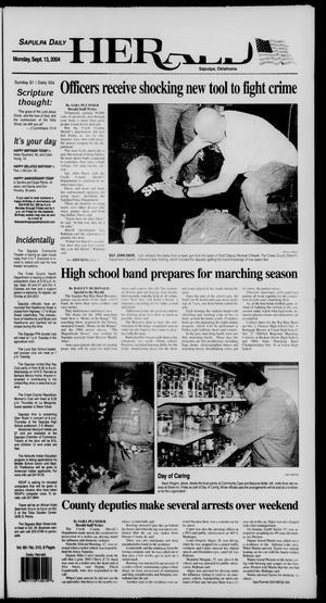 Primary view of Sapulpa Daily Herald (Sapulpa, Okla.), Vol. 89, No. 310, Ed. 1 Monday, September 13, 2004