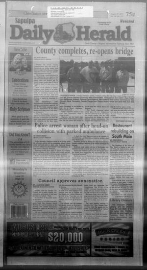 Primary view of Sapulpa Daily Herald (Sapulpa, Okla.), Vol. 98, No. 237, Ed. 1 Sunday, August 25, 2013