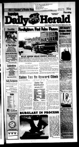 Primary view of Sapulpa Daily Herald (Sapulpa, Okla.), Vol. 96, No. 140, Ed. 1 Thursday, March 31, 2011