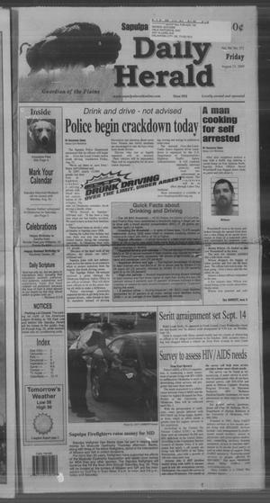 Primary view of Sapulpa Daily Herald (Sapulpa, Okla.), Vol. 94, No. 271, Ed. 1 Friday, August 21, 2009